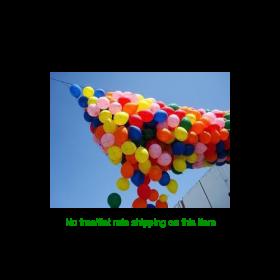 Pre-strung 2000 Balloon Drop Net - Basic Style 4.5 x 50 Feet Filled
