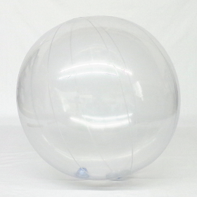 5 foot Clear Vinyl Display Ball