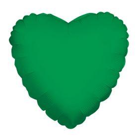 18 inch Emerald Green Heart Foil Balloons