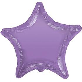 18 inch Lavender Star Foil Balloons