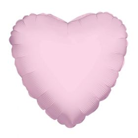 18 inch Light Pink Heart Foil Balloons
