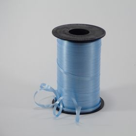 Light Blue Curling Ribbon Spool - 3/16 inch x 500 yards