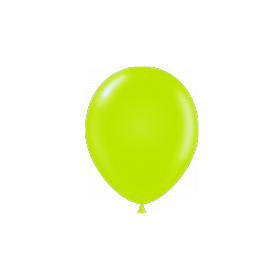 17 inch Tuf-Tex Latex Balloons - Lime Green - 50 count