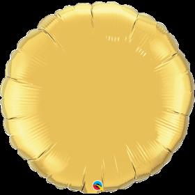 Qualatex 36 inch Gold Circle Foil Balloons