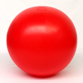 6 foot Red Vinyl Display Ball