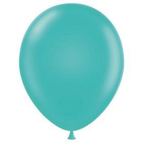 5 inch Teal Tuf-Tex Latex Balloons - 50 count
