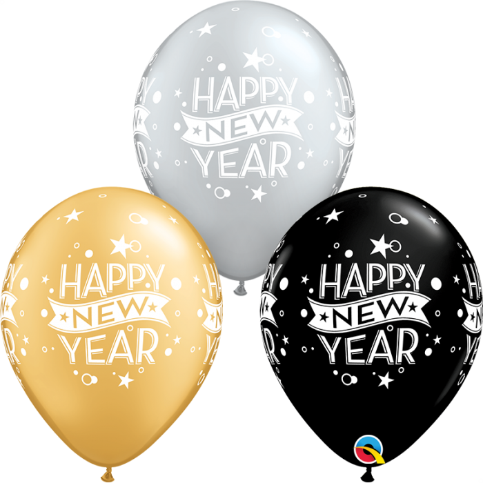 Happy New Year Balloons 92