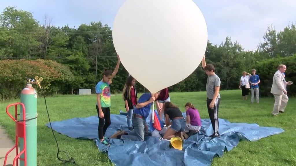 High Altitude Weather Balloons