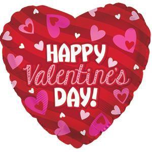 Valentine's Day Foil Balloons