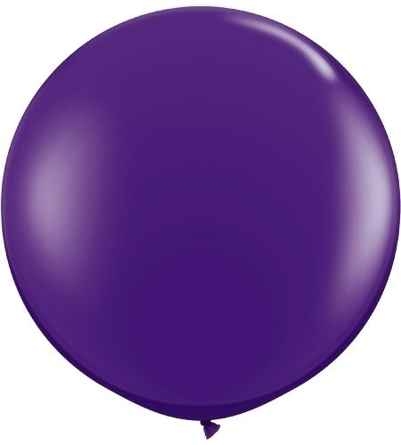 36 Inch Round Tuf-Tex Latex Balloons in Over 25 Colors