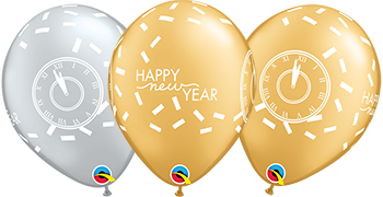 Qualatex New Years Latex Balloon Prints
