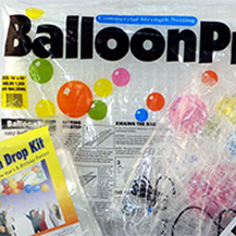 Balloon Drop Net Kits - Balloon Pro, BOSS Pre-strung kits, Basic Pre-strung Kits