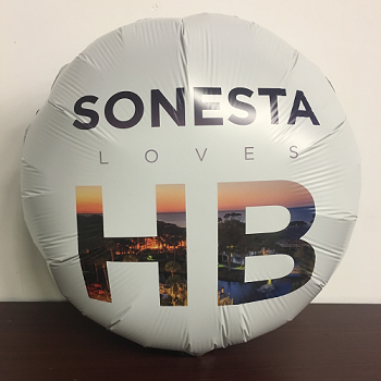 Balloon with Custom Digital Photographic Image