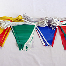 Pennant Flag Strings - Balloon Ropes, Balloon Anchor Lines, Mason's Twine