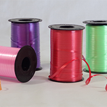 Curling Ribbon Spools, Cut Ribbon Coils, and Balloon Weights in Every Shape, Size, and Color