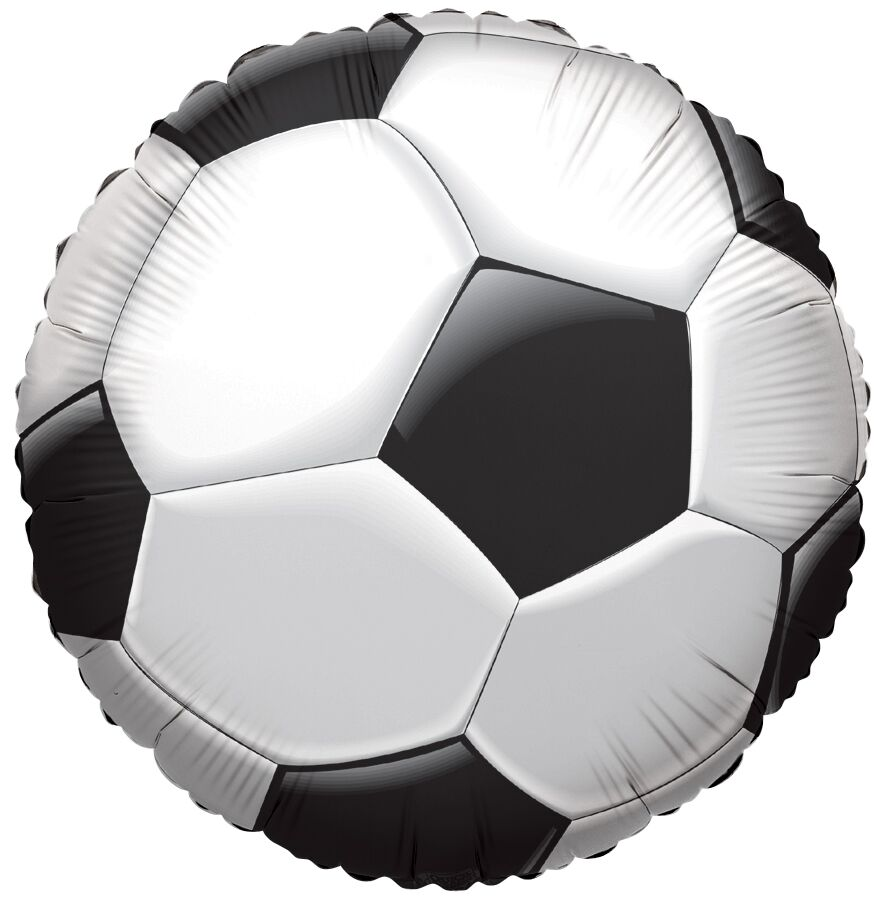 Sports Foil Balloons - Soccer, Football, Basketball, Baseball
