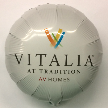 18 inch Custom Digital AV Homes Balloon