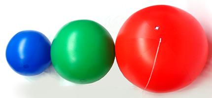 Vinyl Display Balls