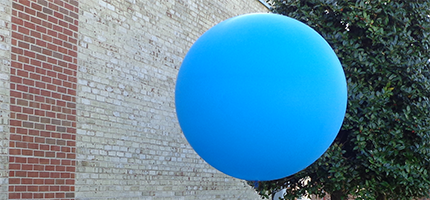 Giant Cloudbuster Weather Balloons