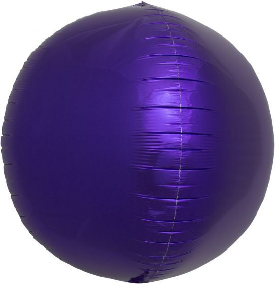 17 Inch Foil Balloon Spheres - 8 Colors and Patterns