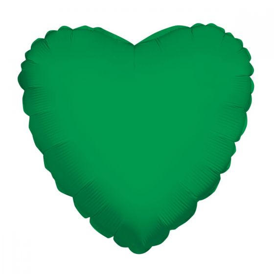 18 Inch Foil Balloon Solid Color Hearts in 18 Colors
