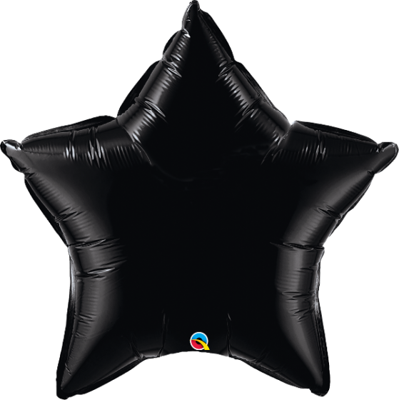 36 Inch Qualatex Foil Balloon Solid Color Stars in 12 Colors