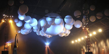 Cloudbuster balloons Roskilde Festival