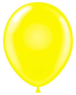 5 Inch Tuf-Tex Latex Balloons in 15 Colors